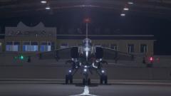 【第一军视】飞豹战机直冲夜空 实弹训练精确打击