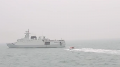 南部戰區海軍艦艇編隊多艦協同自主對抗