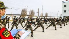 武警甘肃总队执勤支队:实战化考核锤炼制胜硬功