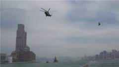 實戰化練兵 駐香港部隊組織陸??杖娐摵涎策? title=