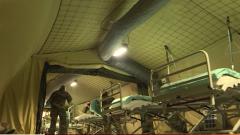 法国野战医院正式投入使用