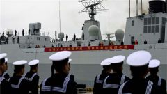 圓滿完成亞丁灣護航任務 海軍第三十三批護航編隊載譽凱旋