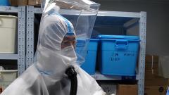 """正压生物防护头罩:为战""""疫""""一线医护人员的防护助科技之力"""