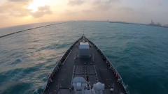 中國海軍第33批護航編隊凱旋