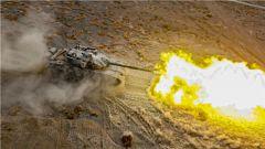 现场直击!陆军第76集团军某合成旅组织坦克分队开展实兵实弹射击演练
