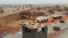 非洲馬里 我維和工兵完成援建馬里政府軍任務