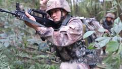 陆军第77集团军某旅特战集训突出协同配合