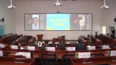 国防大学开展环球网络教学培训外军学员