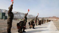 武警新疆總隊機動第三支隊組織首長機關實彈射擊訓練考核