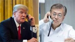 宋曉軍:疫情嚴峻來不及生產更多試劑盒  特朗普開口向韓國求助