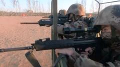 陸軍第79集團軍某合成旅:塞北戈壁 多課目連貫考核錘煉實戰能力