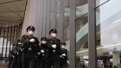 武警官兵全力保障北京大兴机场正常运转