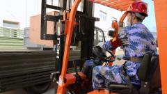 北部戰區海軍某基地保障隊開展應急拉動演練