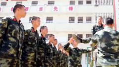 武警云南总队曲靖支队:多种形式助力新兵成长