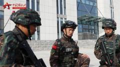武警新疆总队克拉玛依支队组织战备拉动演练