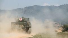 【聚焦实战化演兵场】粤东山地 轮式装甲突击车实弹射击考核