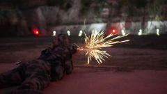 滇西高原:夜间应用射击,锤炼暗光狙击能力