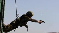 武警新疆总队机动第二支队:火热开展侦察分队专业课目集训