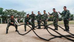 武警某部机动四支队多拳出击 助力官兵练就强健体魄
