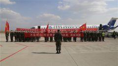 火箭军某部:包机转场 快速输送兵力执行国防施工任务