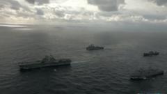 """李莉:航母缺位两栖舰补 在南海""""秀肌肉""""美国不愿出现""""空窗期"""""""