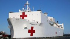 """美海军""""安慰""""号医疗船上一名船员确诊"""