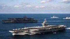 疫情困扰美国海军 航母风波波及高层