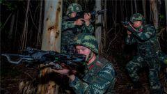 武警广西总队机动支队组织夜间反恐演练 锤炼部队打赢能力