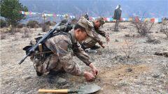考促训 训为战 战为胜!西藏军区某边防团开展列兵阶段性训练结业考核