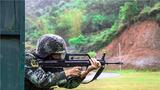狙击手利用掩体进行射击考核