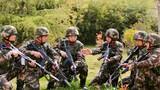 警卫勤务大队官兵正在进行战法研究。