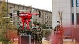 参谋部数据室正在组织进行无人机操作训练。