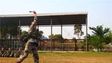 手榴弹投掷训练