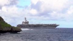 美海军950人新冠肺炎检测呈阳性