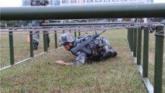 争先创优!陆军第77集团军某旅开展军事体能比武竞赛