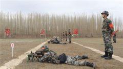 新疆军区某边防团组织开展群众性岗位创破纪录比武竞赛