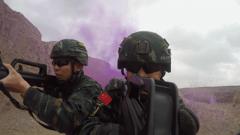 【聚焦实战化演兵场】天山深处 特战队员极限反恐锤炼血性胆魄