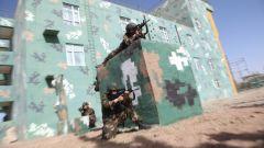 春意盎然 武警新疆总队喀什支队练兵备战谋打赢