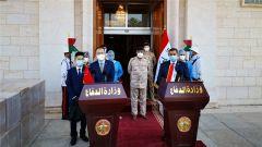 【助力世界抗疫 中国伸出援手】中国向伊拉克国防部捐赠医用物资