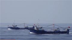 海军第三十四批护航编队连续为多艘渔船实施护航