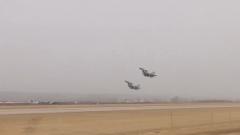 空军航空兵某旅组织远距离突防突击演练