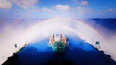 航天日,远望3号船带你去看海天美景!