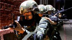 武警塔城支队:夜间战术训练 提升反恐作战能力