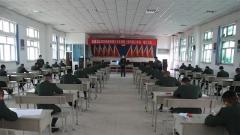 武警喀什支队组织2020年院校招生文化课预考工作