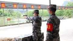 桂林联勤保障中心某仓库组织轻武器射击训练与考核