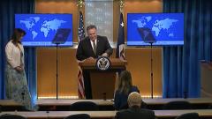 蓬佩奥欲施压安理会 延长对伊朗武器禁运