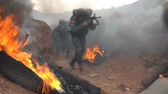 【第一军视】直击武警特战队员极限体能训练