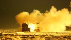 【第一军视】火炮震撼怒吼 炮兵分队跨昼夜演练火力全开