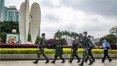 武警北海支队:五一假期守一线 执勤巡逻保平安