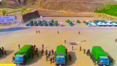 连线海拔3700米武警西藏总队某机动支队:比武为期三天 开展10多个专业30多项考核